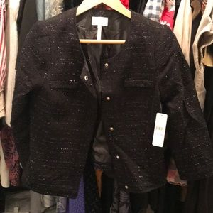 Sparkling laundry by shelli segal black jacket